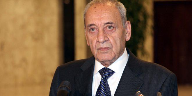 رئيس المجلس النيابي نبيه بري