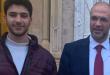 وزير الصحة حسن حمد ونجله