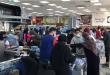 تهافت اللبنانيين لشراء المواد الغذائية