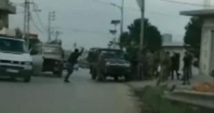 الإعتداء على الجيش اللبناني -بلدة القصر الحدودية